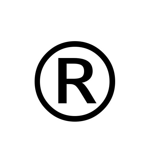 registered trademark symbol